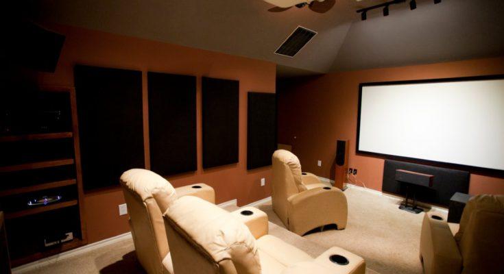 sala cinema a casa